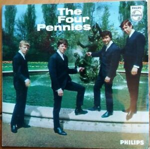 'THE FOUR PENNIES'  1964 PHILIPS EP EX/EX