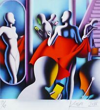 "MARK KOSTABI ""The joy of text"" 3D CONSTRUCTION HAND SIGNED URBAN ART US ARTIST"