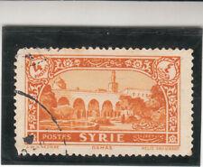 Syria 1930 - Local Motifs - Damas - 4 piastres. French Mandate. Used NG