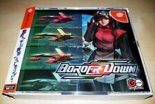 Sega Dreamcast Border Down Limited Edition SHMUP JAPAN NTSC
