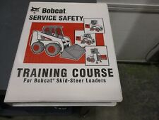 Bobcat service safety training course