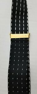 Trafalgar Black/White Dotted Suspenders Braces Button Fasteners