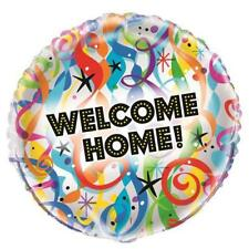 """Bright Welcome Home Foil Balloon 45cm (18"""") Packaged   .53992"""