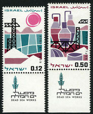 Israel 296-297 tabs, MNH. Dead Sea chemical industry, 1965