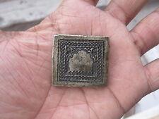 004 old or antique miniature bell metal jewellery stamp die seal