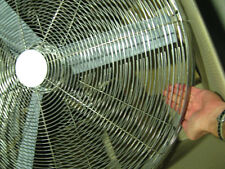 Stainless Steel 810mm fan
