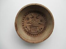 Butter mold  Press 19th century hand carved Dutch Folk Art