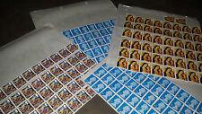 Original Gum Decimal British Elizabeth II Stamps