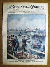 La Domenica del Corriere 6 giugno 1926 Mussolini Genova - Belluno - Norge