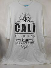 new GOLD MIND WHITE BEAR CROWN TEE 99-510  SIZE 3XL  ***
