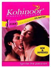 Kohinoor Condom Pink men condoms 2 x 10 piece
