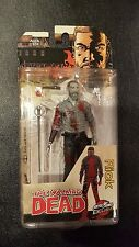 MCFARLANE TOYS THE WALKING DEAD RICK GRIMES 2016 BLOODY B&W SAVE 5% WORLDWIDE