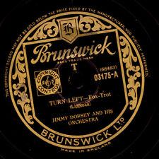 Jimmy Dorsey & His Orchestra turn left/Turn right gommalacca 78rpm x1345
