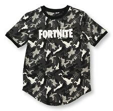 MEDIUM 8 FORTNITE Shirt for Boys Short Sleeve T-Shirt Camo Tee Gaming Kid Gift