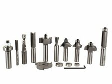 Whiteside 410 Essential Router Bit Set for Woodworking - 10 Router Bits