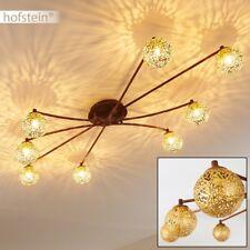 Plafonnier Lampe à suspension Lustre 8 branches Lampe de séjour Vintage 174784