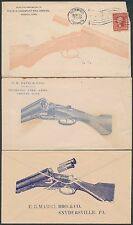 (5) DIFFERENT SHOTGUNS ADVERTISING COVERS (2) UNUSED (3) USED BS4693