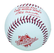 1988 World Series Rawlings Official Baseball Los Angeles Dodgers vs Oakland A's