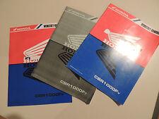 Honda CBR 1000 F 1995-1997 Ergänzungs Werkstatthandbuch Reparaturanleitung