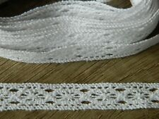 3 Meter Häkelborte weiß - Häkelspitze  Borte  Shabby  Spitzenborte  Spitzenband