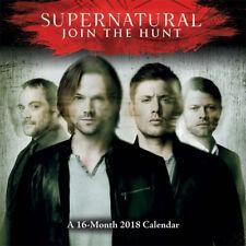Supernatural TV Series 16 Month 2018 Mini Wall Calendar NEW UNUSED