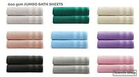 Extra Jumbo Bath Sheet Towel Bale Set 100% Pure Cotton Super Soft Thick 600 GSM