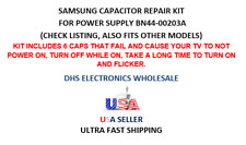 SAMSUNG  LCD TV CAPACITOR REPAIR KIT FOR POWER SUPPLY BN44-00203A