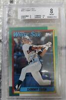 1990 O-PEE-CHEE SAMMY SOSA #692 White Sox RC Rookie BGS 8 NM/M Cubs HOF RARE!!