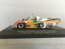 QUARTZO QLM019 Rondeau M379B VSD Canon #5 Darniche- Ragnotti Le Mans 1979 1/43