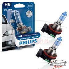 Doppelpack Philips WhiteVision H8 3700K 12360WHVB1