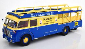 CMR141 - FIAT 642 RN2 BARTOLETTI, MASERATI RACE TRANSPORTER 1957  1:18