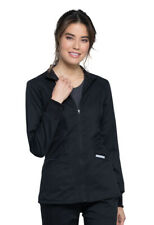 Cherokee Workwear Revolution Women's Ww301 Zip Front Jacket-New-Free Ship