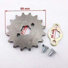 Front Engine Sprocket 420 16 Tooth 17mm ID For Pit Dirt Bikes SDG YCF Pitsterpro