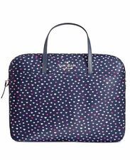 NEW Kate Spade Universal Nylon Leather Laptop Commuter Bag LIPS MacBook HP Dell
