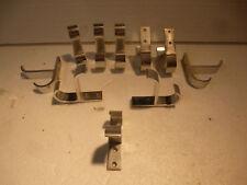 10 Wandhacken, Garderobenhacken aus Aluminium, siehe Bilder.