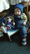 LIFELIKE REBORN TODDLER BABY BOY DOLL ELLIOTT Limited edition of only 150 made