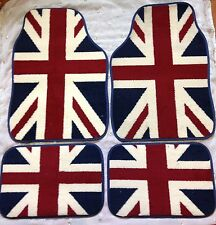 MINI COOPER S ONE CLUBMAN CAR FLOOR MATS UNION JACK GREAT BRITAIN FLAG CAR MATS