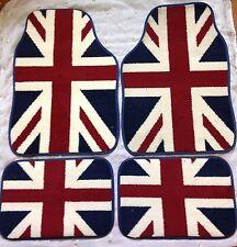 MINI COOPER S ONE CLUBMAN CAR FLOOR MATS UNION JACK GREAT BRITAIN FLAG CAR MATS