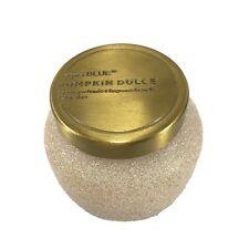 Capri Blue Pumpkin Dulce Glam Petite Jar, 8 oz Candle Gold