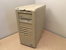 Vintage Dell OptiPlex GX300 MMP Tower Computer PC Pentium 3 dual serial ports