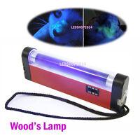 New Portable Handheld Wood's Light UV Lamp for Skin Care