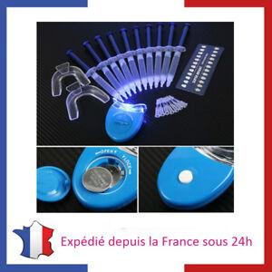 Kit pour Dents Blanches Gel Péroxyde UV Blanchiment Dentaire Résultats Pro