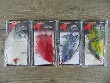 LOT OF 4 MATZUO TIED TEASER WITH EYES - STRIPER, BLUEFISH, SALTWATER FISHING