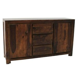 Contemporary Boston Sideboard Chocolate Brown (MADE TO ORDER)