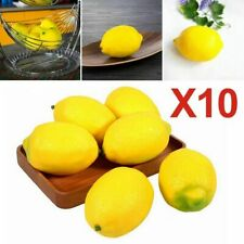 Faux Limes Lemons Decorative Foam Artificial Fruit Imitation Fake Home Decor