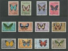 PAPUA NEW GUINEA # 209-220 Used BUTTERFLIES
