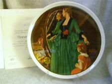 Knowles / Bradford Exchange /Grandma'S Courting Dress /By Norman Rockwell Plate