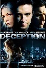 Deception (2008, DVD) - Brand New
