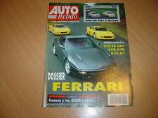 Auto hebdo N°903 Dossier Ferrari.San Remo.