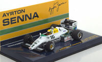 1:43 Minichamps Williams Ford FW08C Test Donnington Park Senna 1983